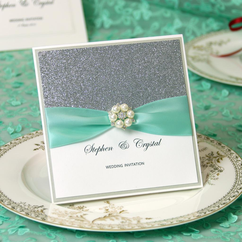 Handmade Luxury Wedding Shower InvitationSave The Date Card – Invitation Cards Handmade