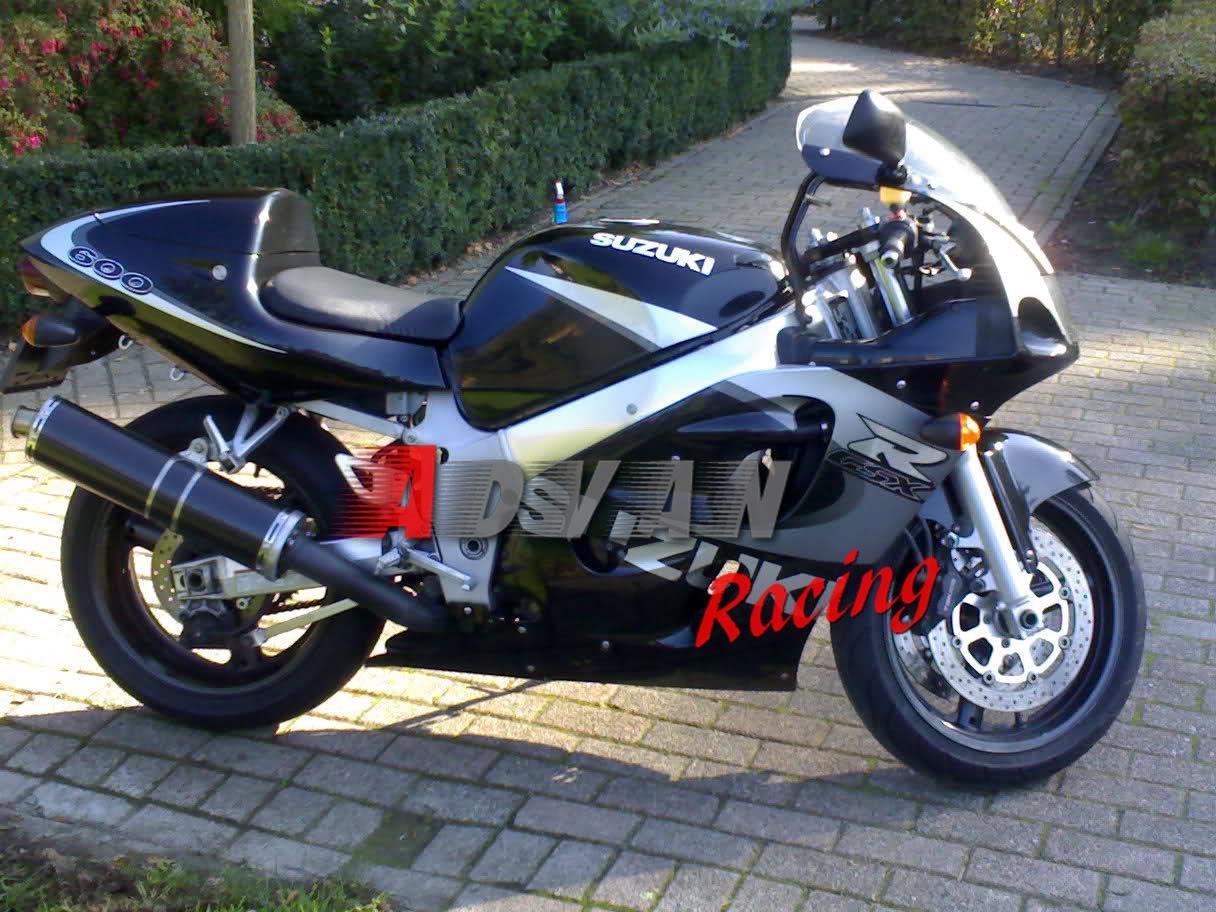 suzuki gsxr 600 750 srad 1996-1999 1997 1998 abs aftermarket
