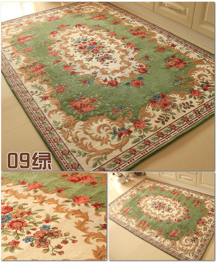 120x180cm rose rug for living room elegant american country style carpet bedroom branded rug and for Country style area rugs living room