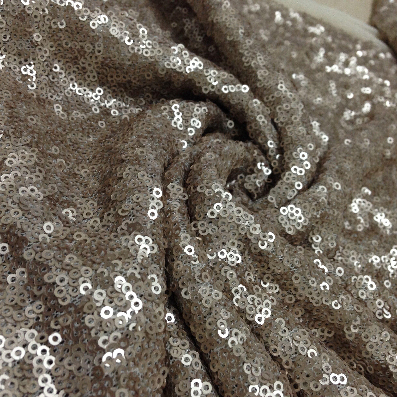 Matte Gold Sequin Fabric Matte Gold Sequin Fabric