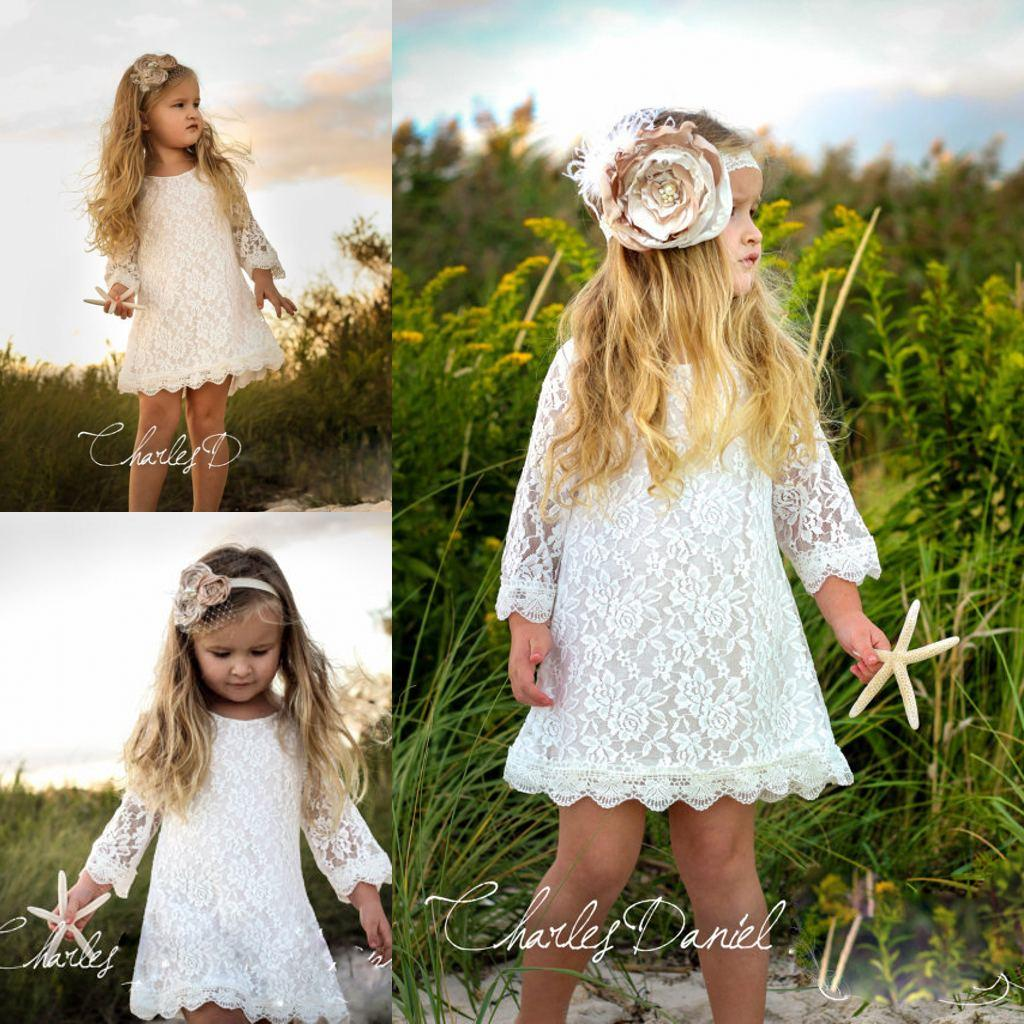 Yellow Lace Flower Girl Dressesflower Girl Dressesdressesss