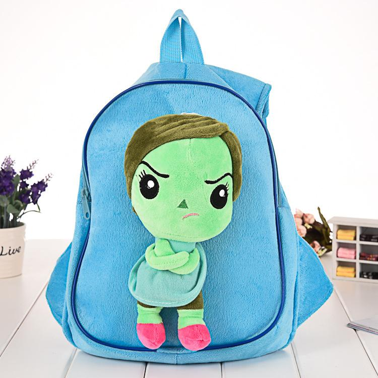 2015 Inside Out Plush Kids Backpacks Cartoon Boys Girls School ...