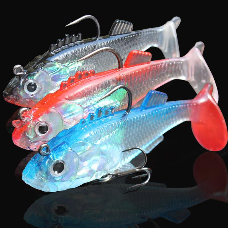 2015 hot sales three colors sea fishing fish type soft bait lures, Fishing Bait