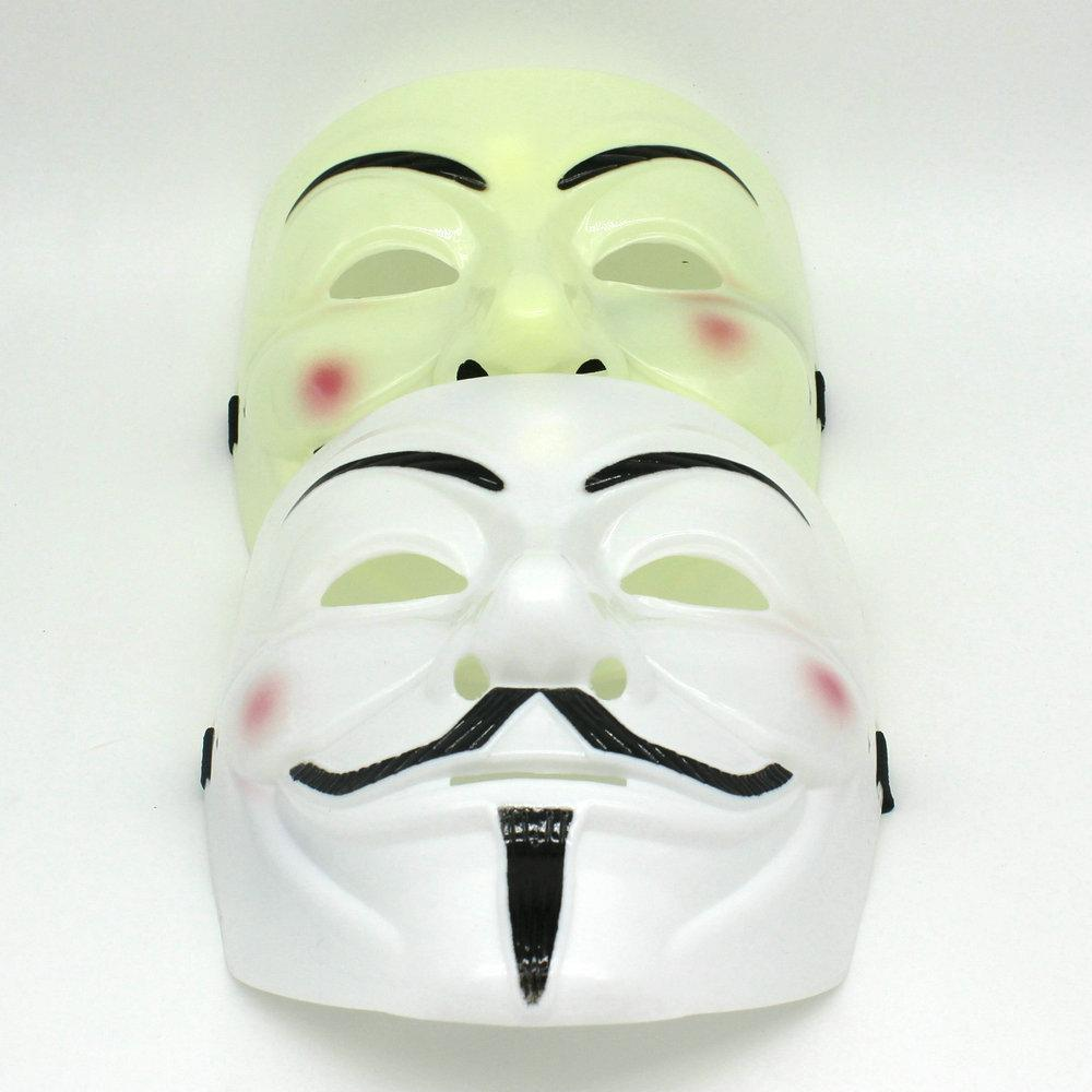 Hot Salling 20*16cm V Mask Vendetta Party Mask Halloween Mask ...