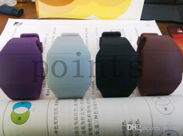 Jelly Touch Watch Touch Screen Watch Kids