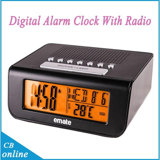 Online Cheap Alarm Clock Radio Alarm Clocks Digital Alarm