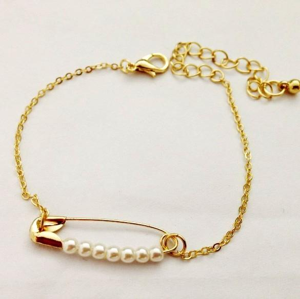 2016 2015 Fashion Women Jewelry Gold Link Chains Lobster Clasp