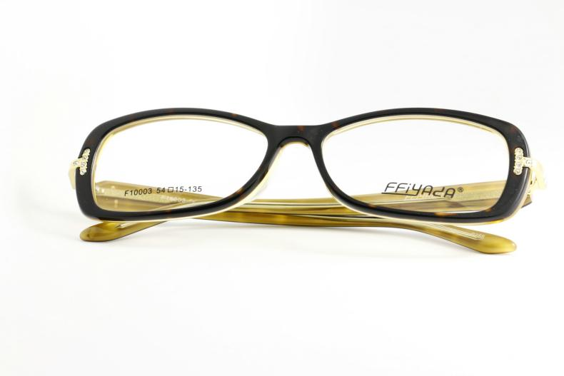 eyeglasses frames 2015  Eyeglass Frame Blonde Black And Tortoiseshell Glasses Frame The ...