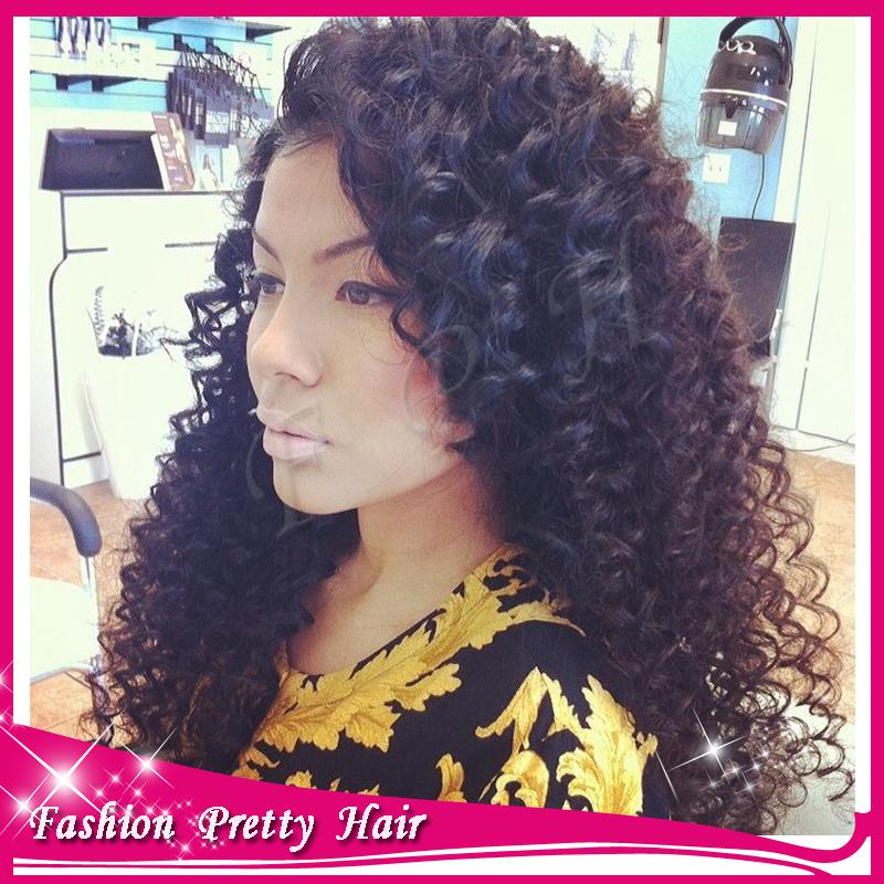 HD wallpapers curly weave with a side part