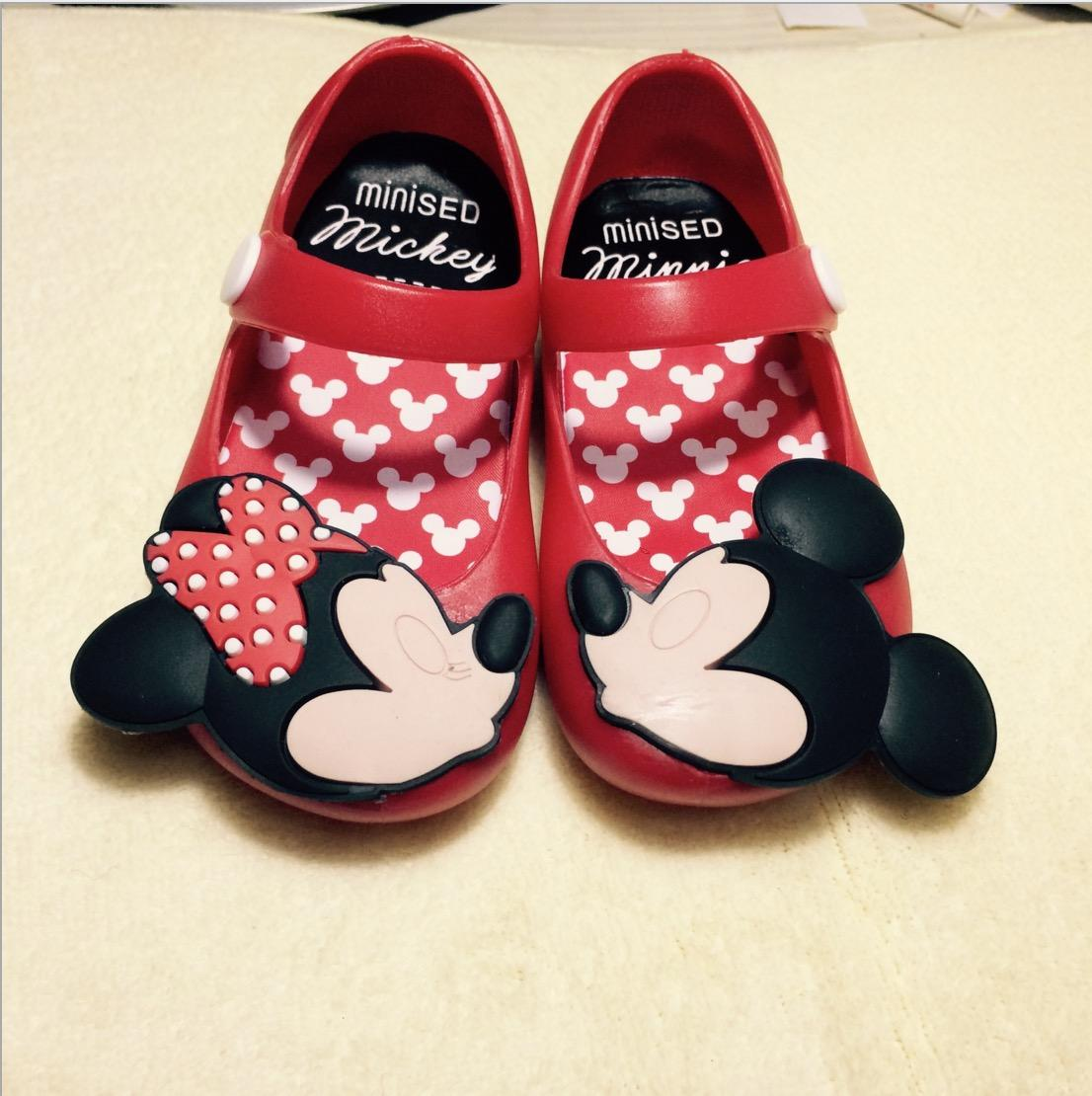Cute Baby Kids SED Mickey Sandal Shoes Crystal Candy Smell Little ...