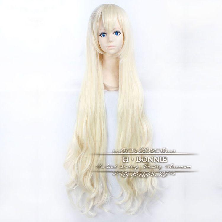 Long Platinum Blonde Wig With Bangs Long Platinum Blonde Wigs