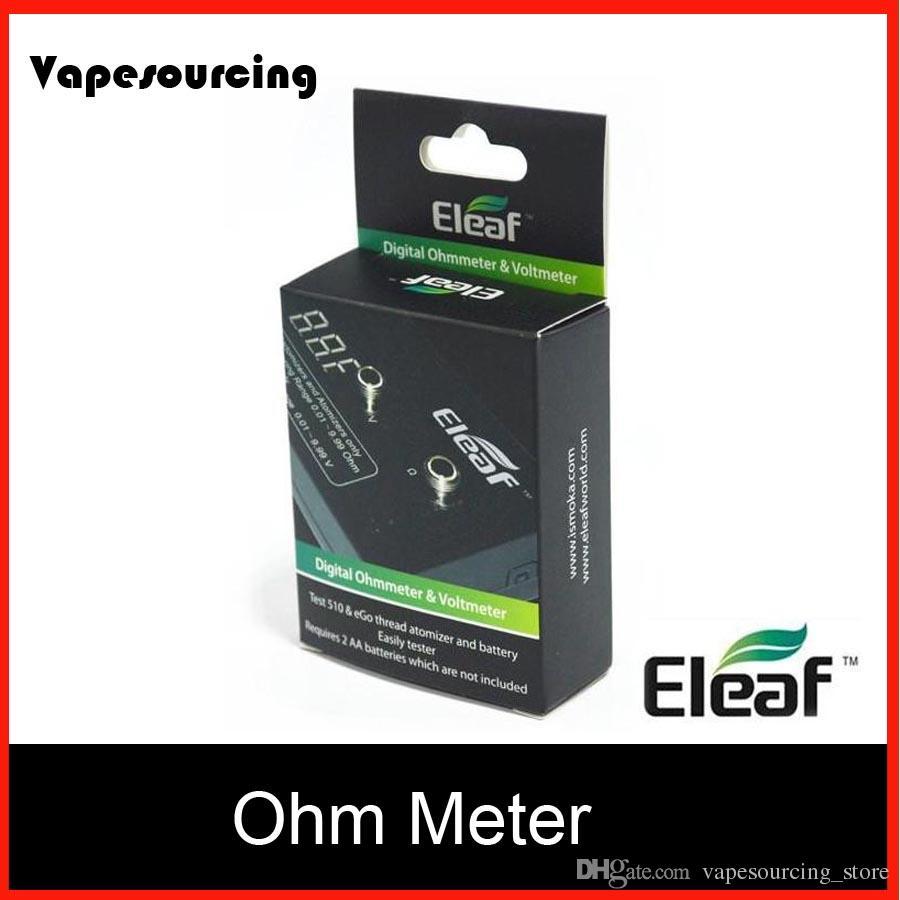 Build A Digital Ohmmeter : Authentic eleaf digital ohmmeter voltmeter tester volt