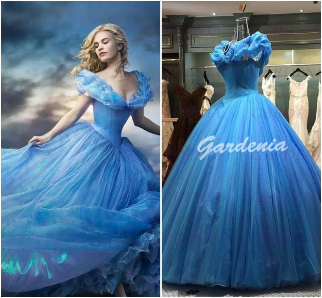 Blue Cinderella Dresses