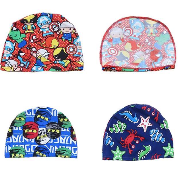 Avengers Ninja Turtle Children Swimming Caps Cartoon ...