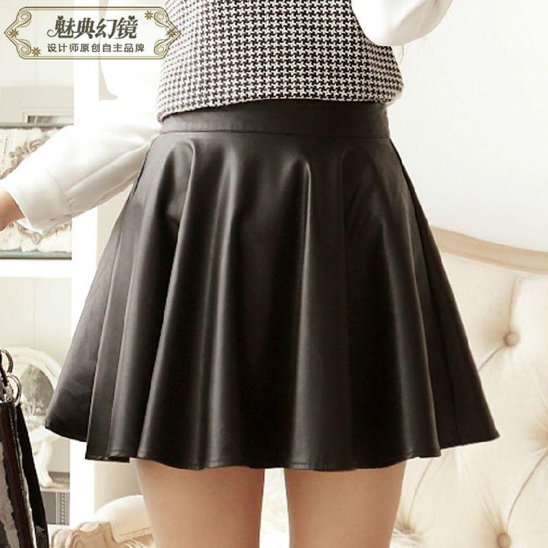 2017 2014 Autumn Skirt Black Midi Skirt Teenage Cheap Clothes ...