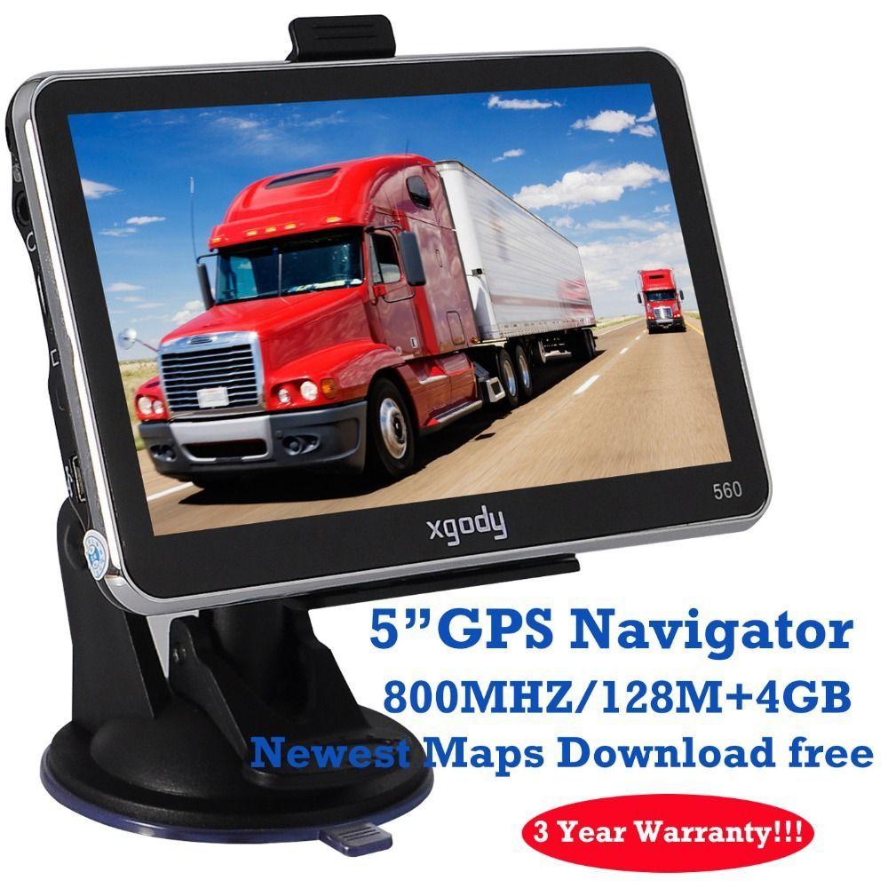 Xgody Brand  Inch Car Trucker Gps Navigationwireless Rearview Camera Best Gps Car Navigator