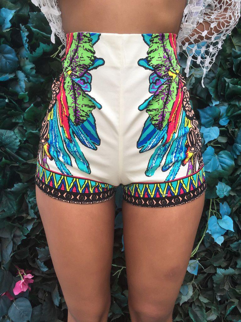 Sexy Women Summer Shorts 2016 High Waist Floral Printed Shorts ...