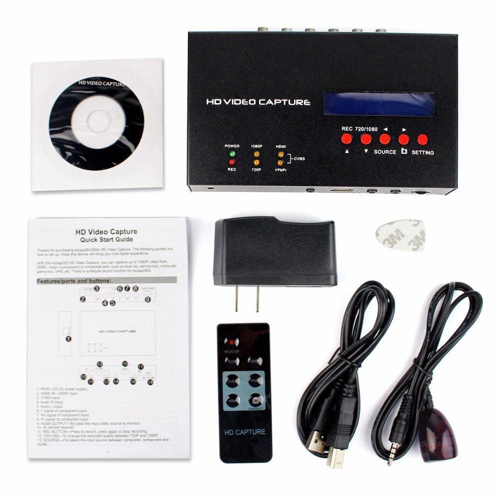 Network Capture Box : Ezcap s p hd video capture game hdmi