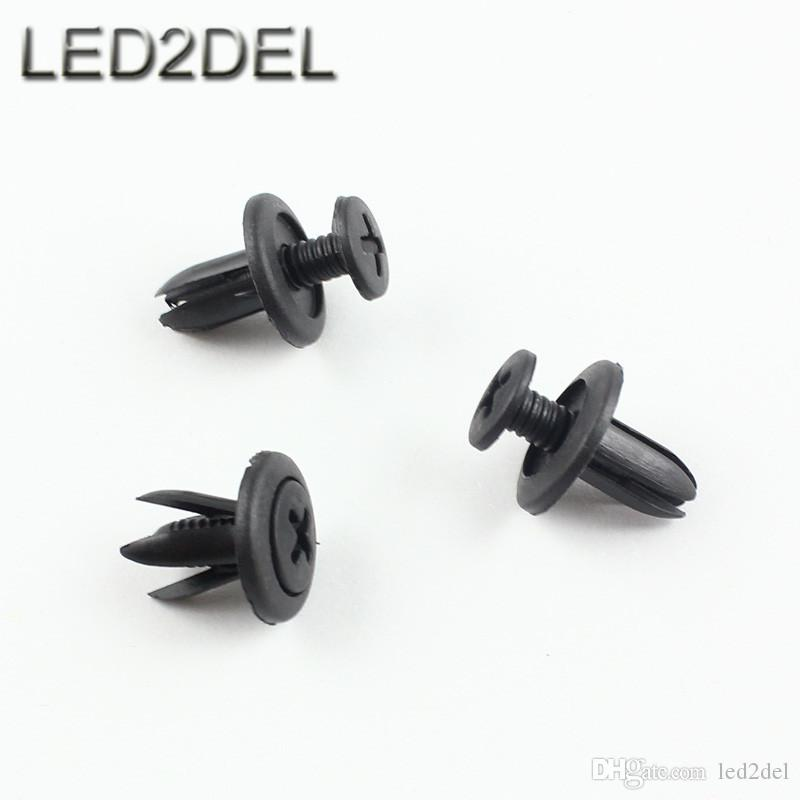 Auto Bumper Fender Small Plastic Screw Rivet Push In 6mm