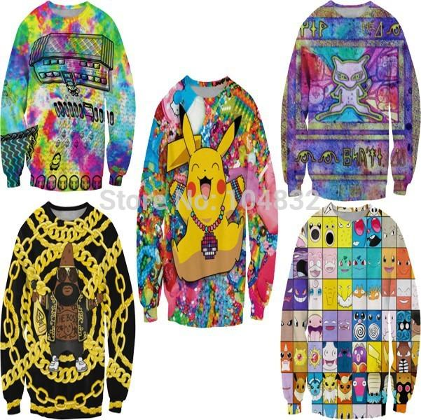 EAST KNITTING FASHION 2015 NEW Harajuku Women Casual Sports hoodies
