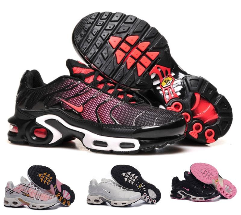 Nike Air Maxes Shoes 2015 Tn Womens Running Shoes, Cheap Original Quality Nike Air Max Tn Breathable Women Shoes Mens Running Shoes Walking Shoes From ...