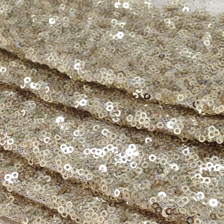 Matte Gold Sequin Fabric Matte Gold Sequin Fabric Matte