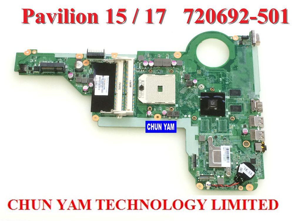 15 17 720692 001 notebook pc system board 100 tested 90 days warranty