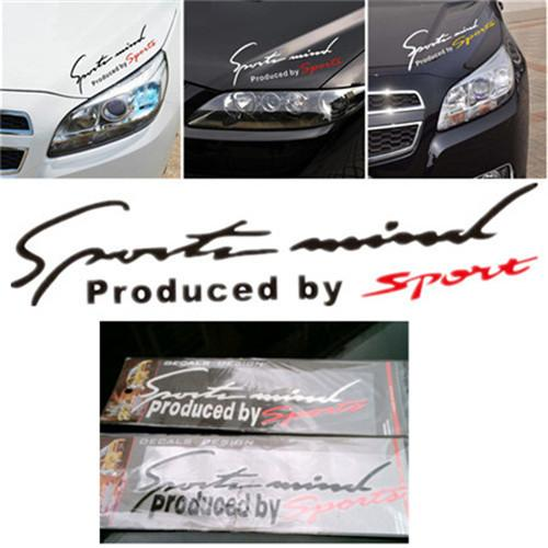 Sport Mind Sports Car Sticker Sport Spirit Graphic Car Logo - Sport decal stickers for cars