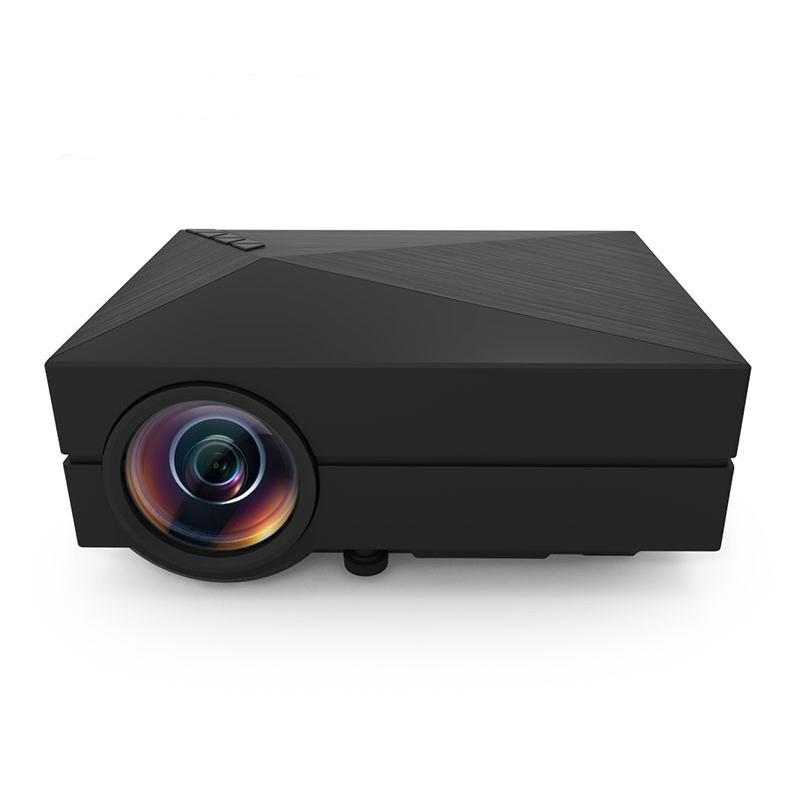 Newest mini portable 1000lm led projector home cinema for Mini outdoor projector