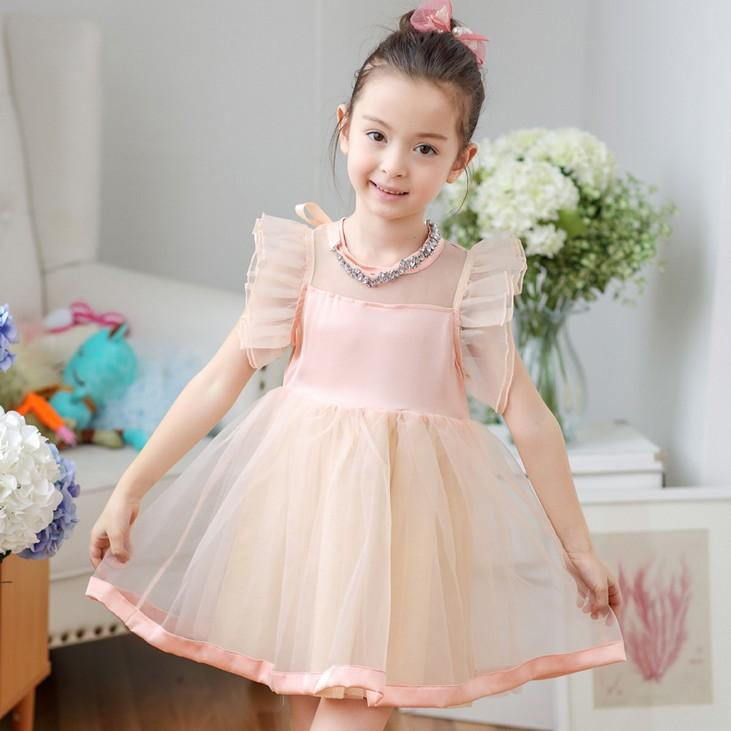 Toddler long sleeve party dresses