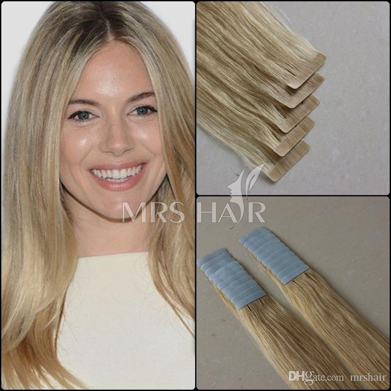 Weft Human Hair Extensions Cheap 39