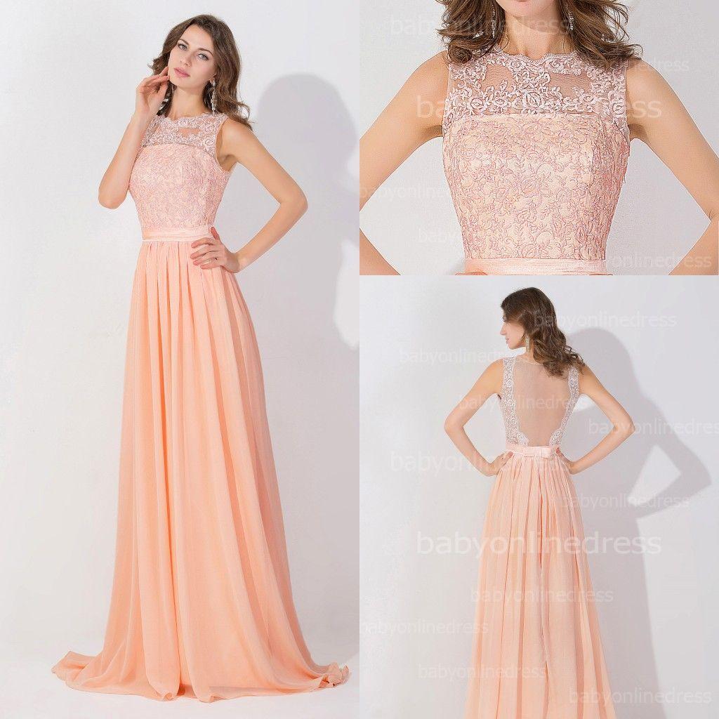 Long peach colored bridesmaid dresses dress images long peach colored bridesmaid dresses ombrellifo Images