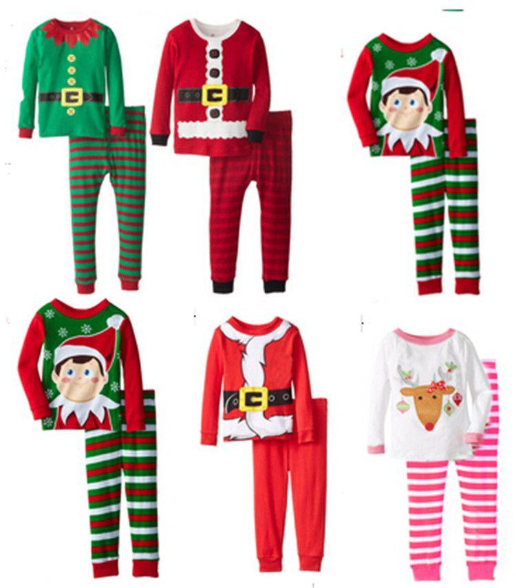 2015 Hot Cute Christmas Design Pajamas Sleepwear Minions Winter ...