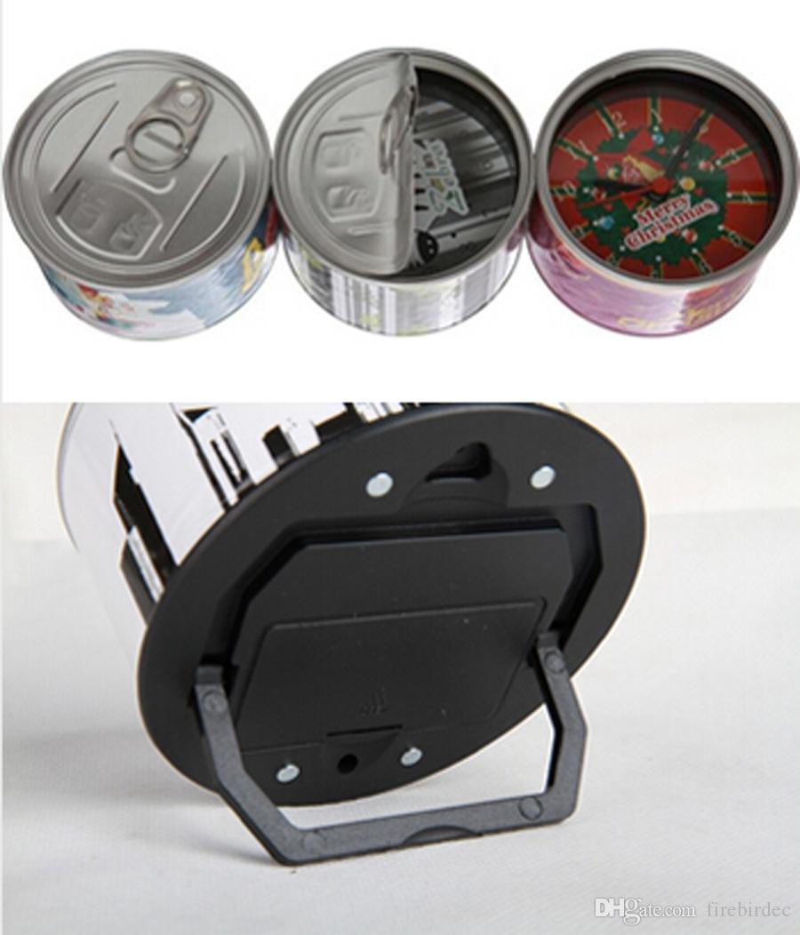 Mode 3d horloges de table cuisine fraîche horloge murale ...