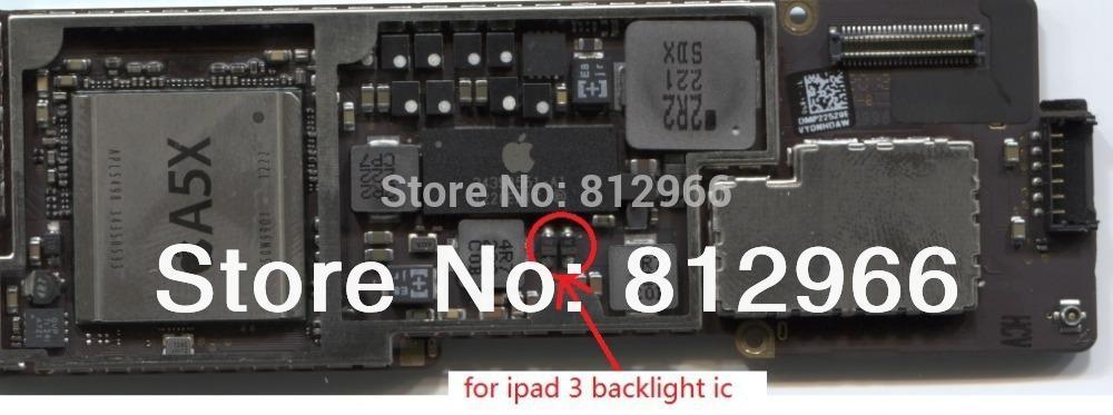how to fix ipad 2 backlight