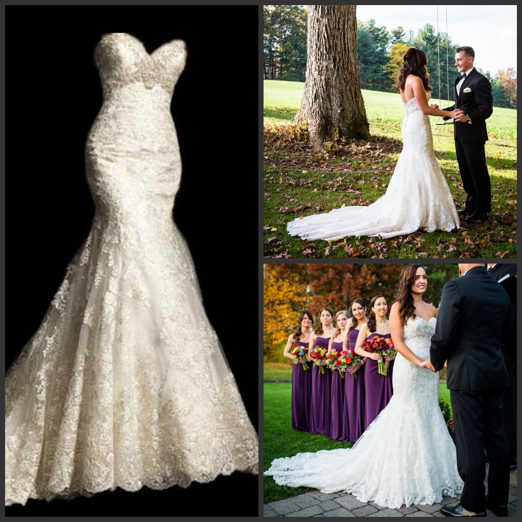 Best Selling Mermaid Wedding Dresses With Crystals Fit And
