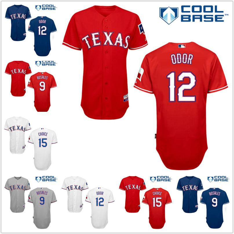 texas rangers red jersey