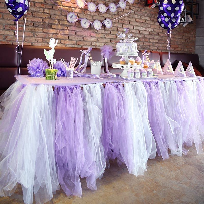Colored Tulle For Wedding Decorations - Wedding Ideas