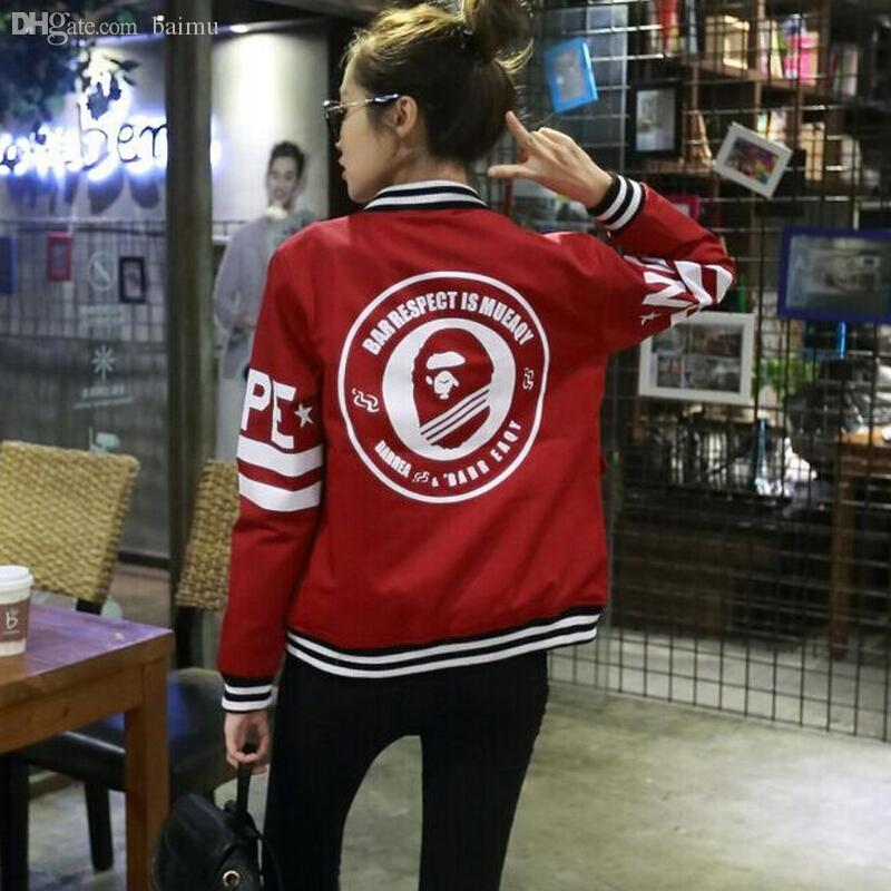 Wholesale-Baseball Jacket Women Varsity Jacket Long Sleeve ...