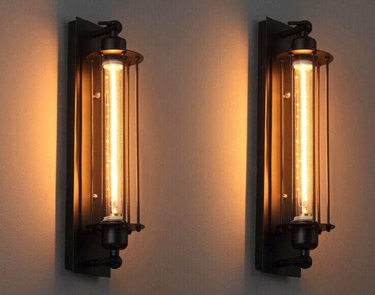 american style edison vintage industrial wall sconce lamp edison lighting fixture crystal chandelier led online with 9066piece on