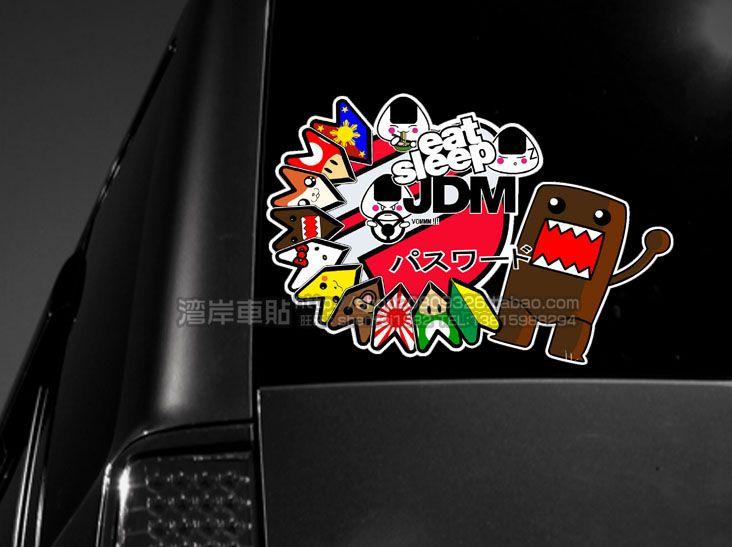 Hot Hellaflush Car Stickers Jdm Japanese Style Password Jdm - Car decal maker machine