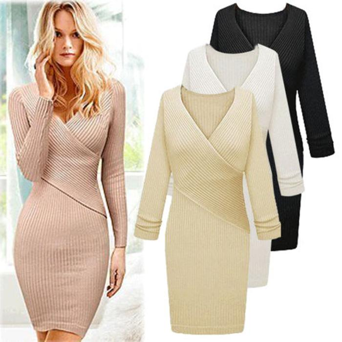 Sweater Dress Clubwear