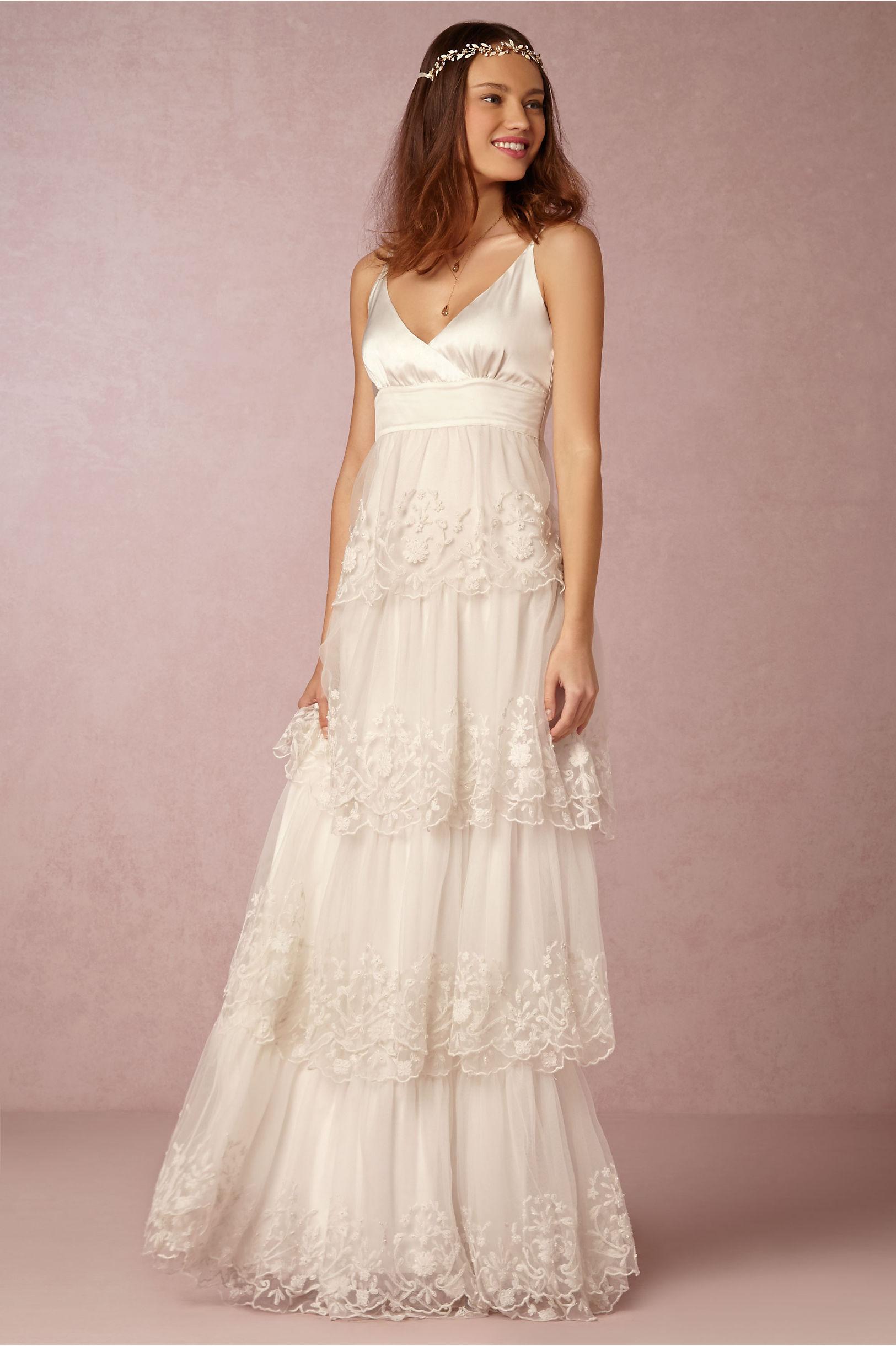 Discount Bohemian Empire Waist Wedding Dress | 2017 Bohemian ...