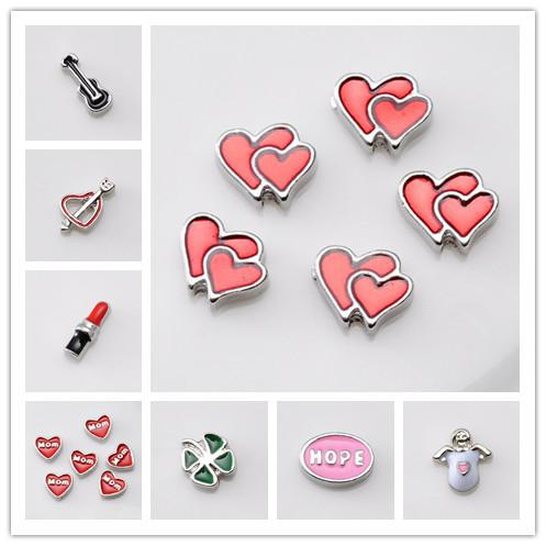 hot sell cute diy jewelry origami heart shap floating