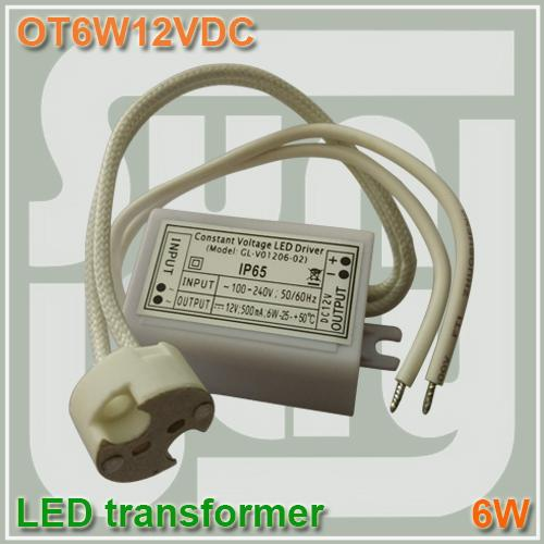 Mr16 Led Transformer Bunnings: LED Transformer 12V DC 3W 4W 6W 500mA MR16 Spotlight