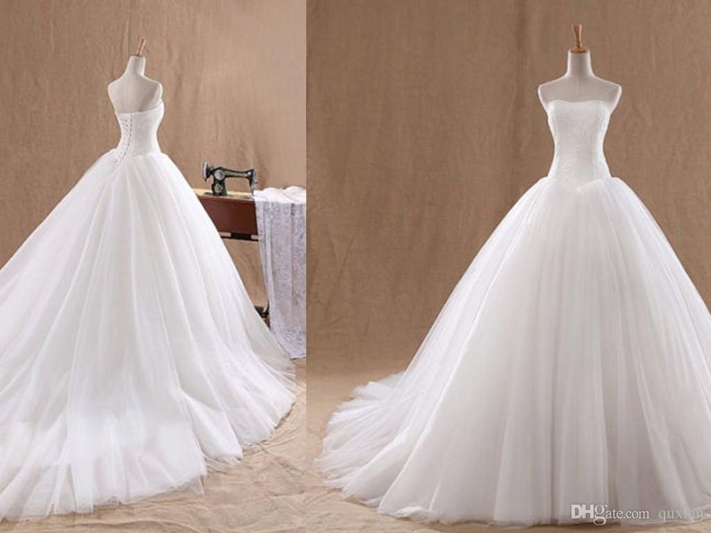 2015 Wedding Dresses Simple High Quality 2015 Spring New
