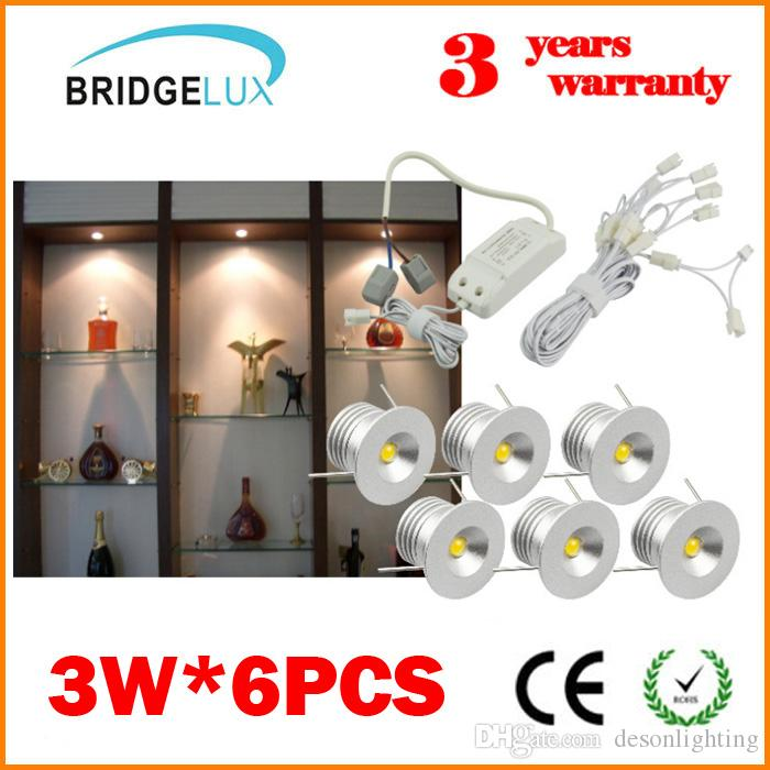 Bridgelux Dimmable LED Recessed Light Bulbs LED Mini Spotlight Downlight Recessed  Lighting Fixture Kit Display Cabinets
