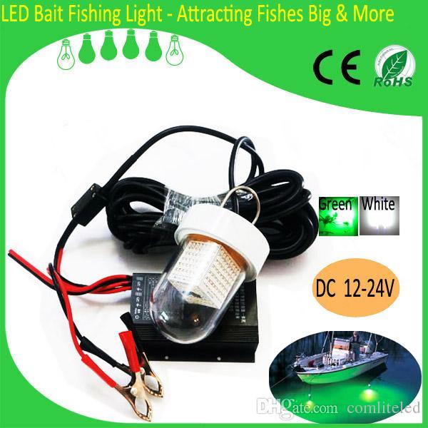 12v underwater green led fishing fish light snook light night, Reel Combo