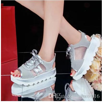 Summer 2015 the new fish mouth tennis shoes woman with for Fish tennis shoes
