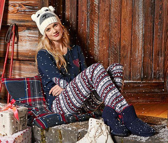 2017 Christmas Sleepwear Pjs For Women,Cotton Pajamas By ...